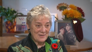 Silver Cross mother Diana Abel speaks about honouring her son this Remembrance Day. (CTV News)