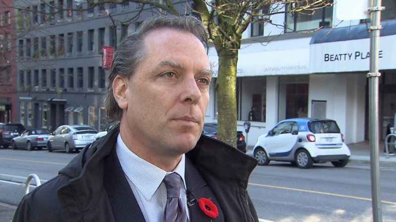 Vancouver lawyer Paul Doroshenko speaks to CTV News Vancouver in this file photo from 2017.