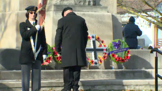 Cambridge Remembrance Day