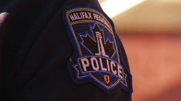 Halifax police respond to tractor trailer which flipped over on highway