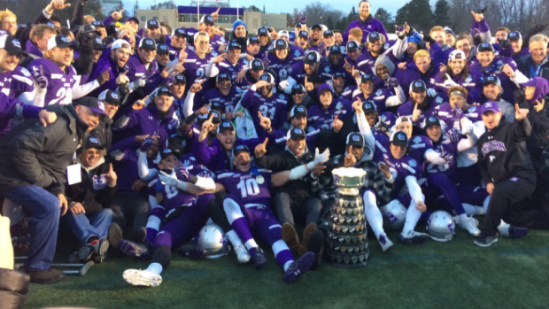 Western Mustangs 2017 Yates Cup Champs