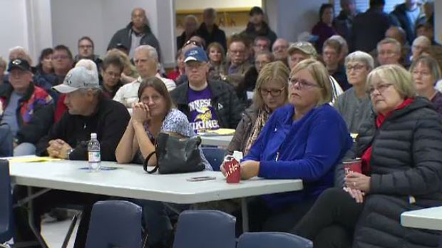 Emotions ran high at a meeting about a possible addictions recovery centre coming to Winnipeg's Assiniboia area.