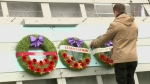 Remembrance Day celebration at the Queen City