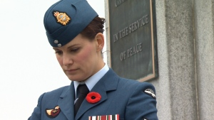Thousands of people came out to pay their respects at Remembrance Day ceremonies in Greater Victoria. Nov. 11, 2017 (CTV  Vancouver Island)
