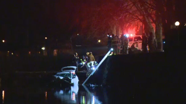 A 38-year-old woman is dead after the car she was a passenger in crashed in St-Charles-Sur-Richelieu.