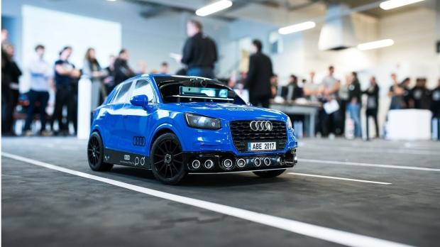 1:18 scale model Audi