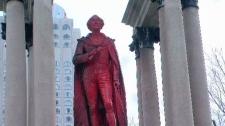 John A statue
