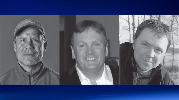 The memorial service for Wayne Hornquist,Lloyd Smith and Jason Podloski was held Sunday afternoon in Fernie (courtesy: City of Fernie)