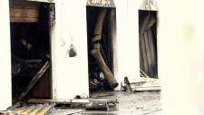 surrey storage locker fire