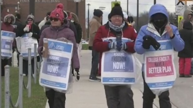 Ont. college students launch class action over faculty strike