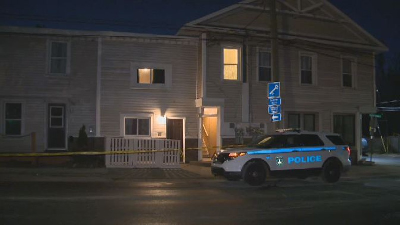 Halifax Regional Police are investigating an assault in Dartmouth after a man was seen running down the street, covered in blood.