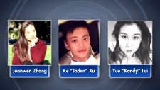 CTV News Channel: Missing Chinese students located