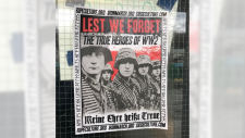 Nazi posters at UBC