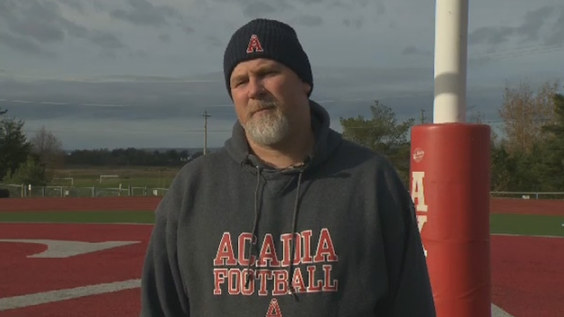 Acadia Axemen football head coach Jeff Cummins says his team will be ready to go for Tuesday, despite a three-week break.
