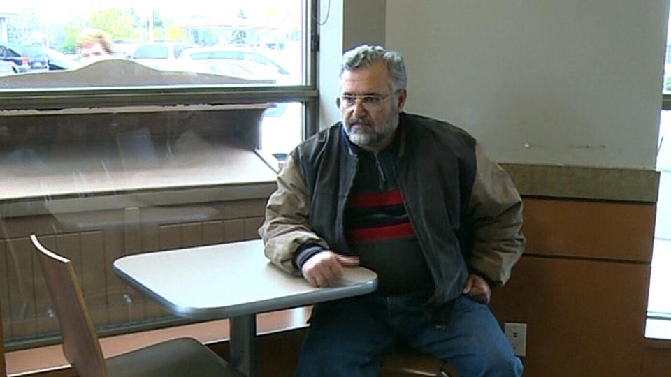 Mohammad Kawsara forgot his jacket at a Tim Hortons in Windsor, Ont. on Nov. 9.