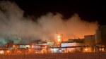 Crews investigating cause of chemical plant fire