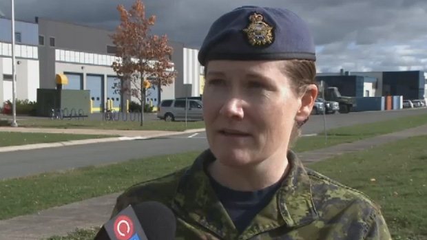 Major Sandra Price says even though her father was in the Canadian Armed Forces, she was never pressured to join.