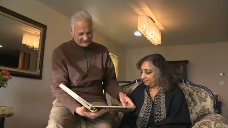 Manjit Virk, left, and Suman Virk, right, are preparing to mark the somber 20-year anniversary of their daughter's brutal and senseless murder. Nov. 13, 2017. (CTV Vancouver Island)