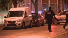 montreal police, night