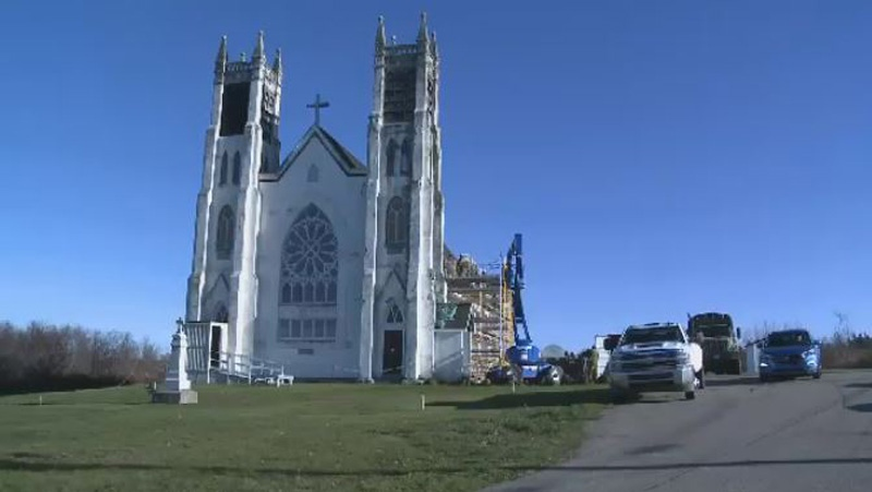 This 101-year-old church in Victoria Mines was slated for demolition, but the Stone Church Restoration Society raised $40,000 to buy it from the Diocese of Antigonish.