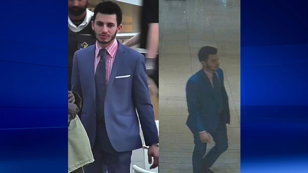 Calgary police are looking for this man who is believed to have stolen a watch valued at over $40,000. (Supplied)