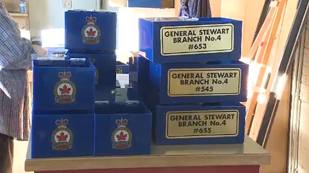 Lethbridge police say a 29-year-old man is facing charges in connection with the theft of three poppy boxes.