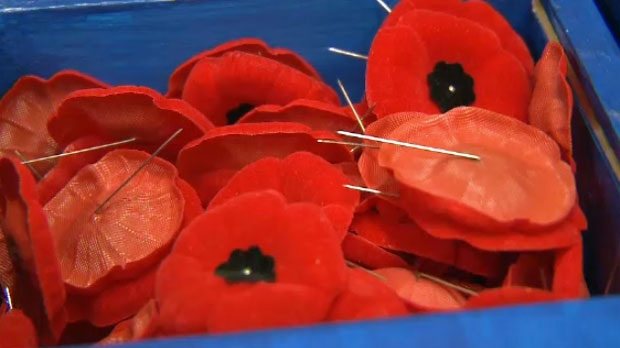 Man charged with poppy box thefts in Calgary