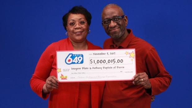 Lottery 6/49 win