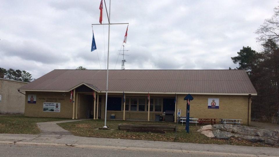 Royal Canadian Legion Branch 424 in Bala, Ont. (CTV Barrie)