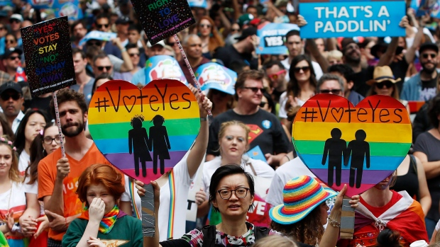 Australia votes 'yes' in same-sex marriage survey