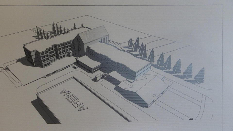 Plans for the Bala Legion Heritage Manor (CTV Barrie)
