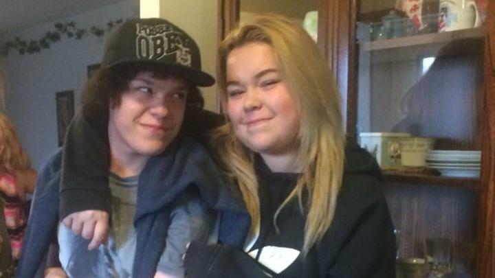 Kegan McCallum, left, and his sister Natasha McCallum are shown in this photo from Facebook.
