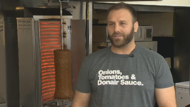 Donair shop owner Nicholas Nahas says the Donair Cam has been in the works for quite some time.