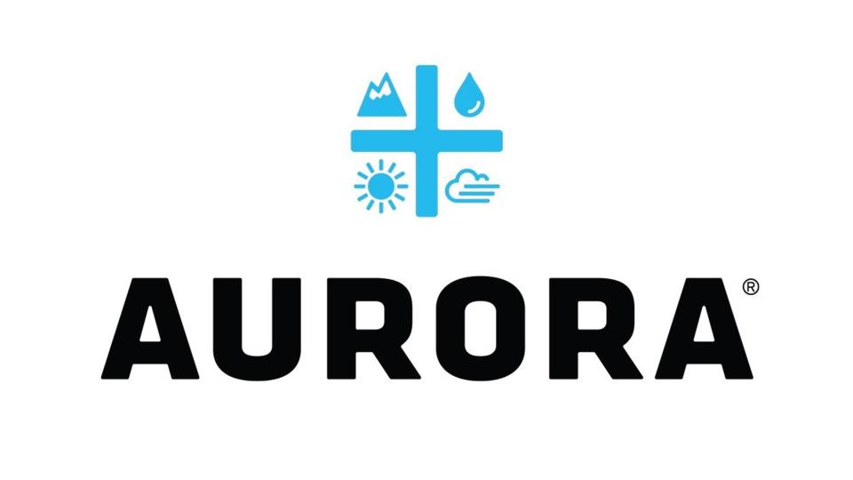 Aurora Cannabis Inc. (TSX:ACB) logo is seen in this undated handout photo. (THE CANADIAN PRESS / Aurora Canabis Inc.)