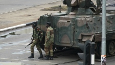 Military in Harare, Zimbabwe