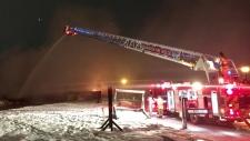 A massive blaze destroys Windermere home.
