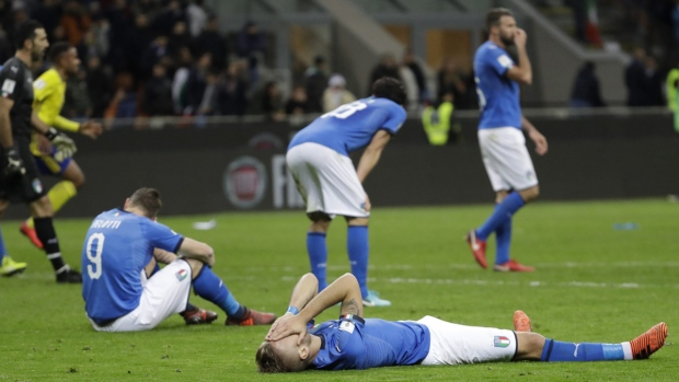 Italy sacks Ventura after World Cup failure
