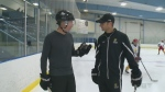 Hitting the ice with Victus Academy