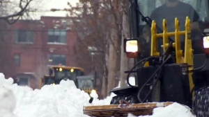 Snow removal, montreal