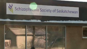 The Schizophrenia Society of Saskatchewan held a grand opening at its new location in downtown Regina on Wednesday, Nov. 15, 2017.