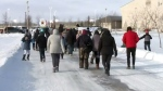 Sask. students take part in smudge walk