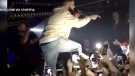 Extended: Drake confronts male fan at show