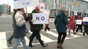 Ontario college strike
