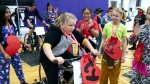 Students cycle to fight cancer