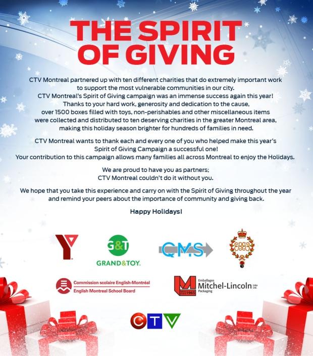 spirit of giving 2017