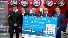 winter driving prepardness in Ontario