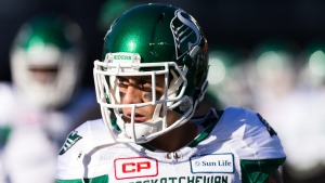 Photo by Daniel Lea/CSM/REX/Shutterstock Saskatchewan Roughriders wide receiver Chad Owens prior to the CFL East Division Semi-Final playoff game between Saskatchewan Roughriders and Ottawa Redblacks at TD Place Stadium in Ottawa.