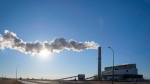 Steam billows from the Sheerness coal-fired generating station near Hanna, Alta., Tuesday, Dec. 13, 2016. (Jeff McIntosh / THE CANADIAN PRESS)