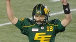 A new survey shows 21 percent of Canadians find the Edmonton Eskimos to be an unacceptable team name.