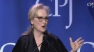 Extended: Meryl Streep speaks out on violence
